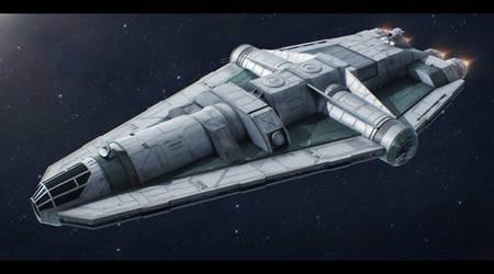 Star Wars Barloz-class Medium Freighter