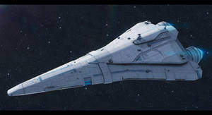 Star Wars Old Republic Cruiser Commission