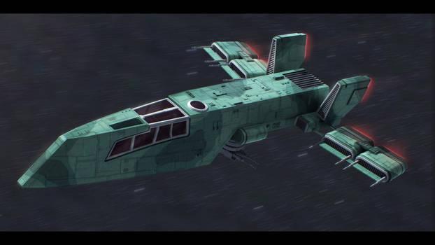 Star Wars Custom HWK-290