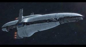 Star Wars Free  Reckoning-class star cruiser