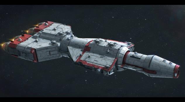 Star Wars CEC DP40 Heavy Gunship Commission