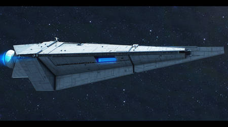Star Wars Stealth Cruiser commission