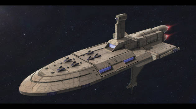 Star Wars Tapani-Class Carrier commission