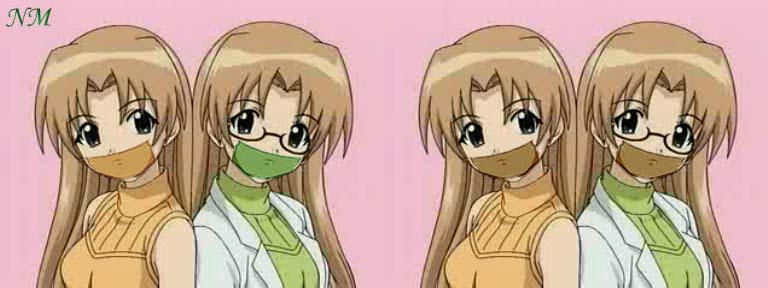 Momoi twins gagged