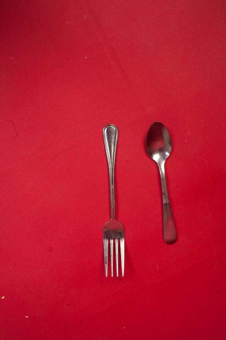 Spoon fork by VioletBreezeStock