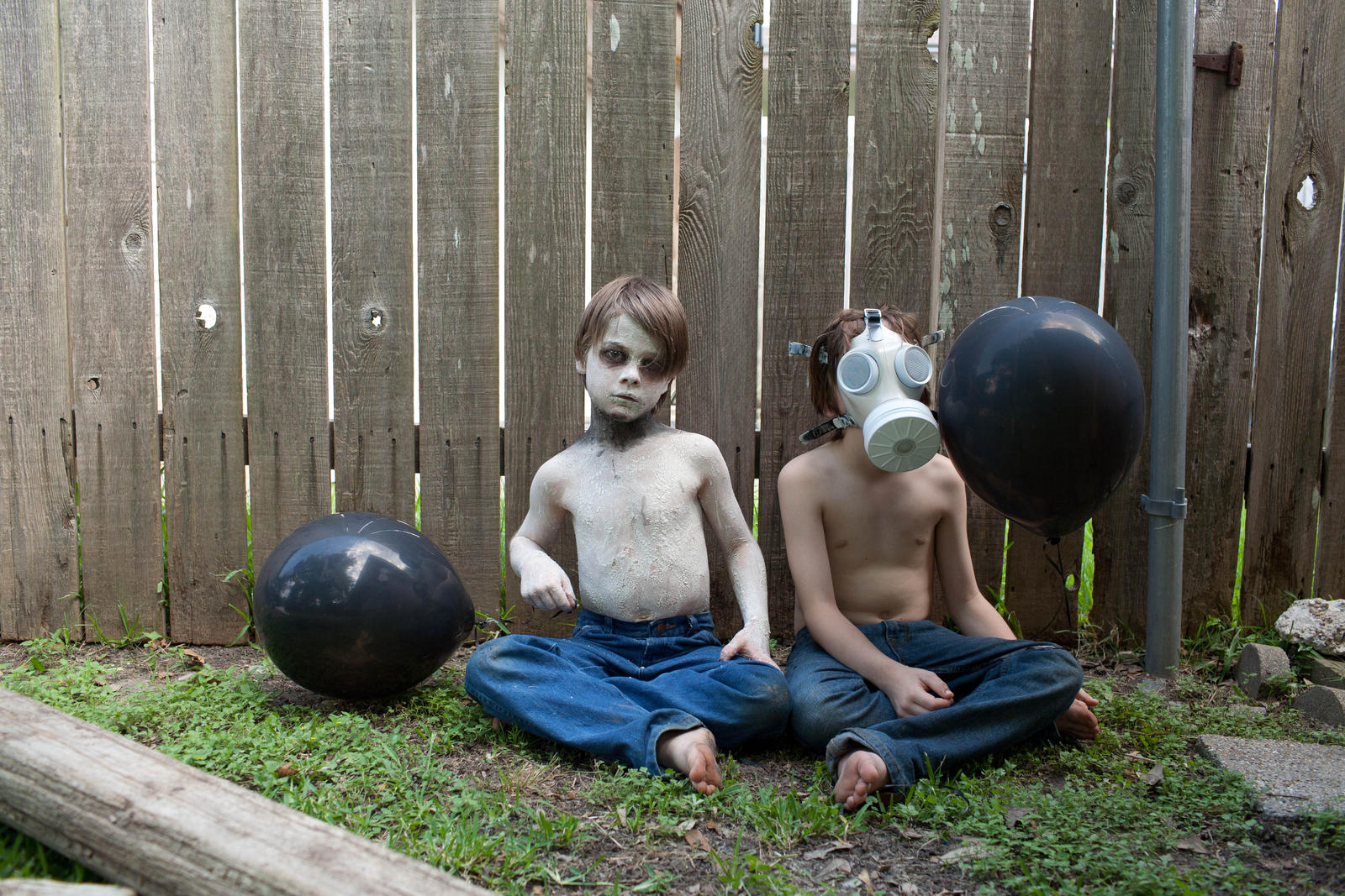 creepy kids by VioletBreezeStock