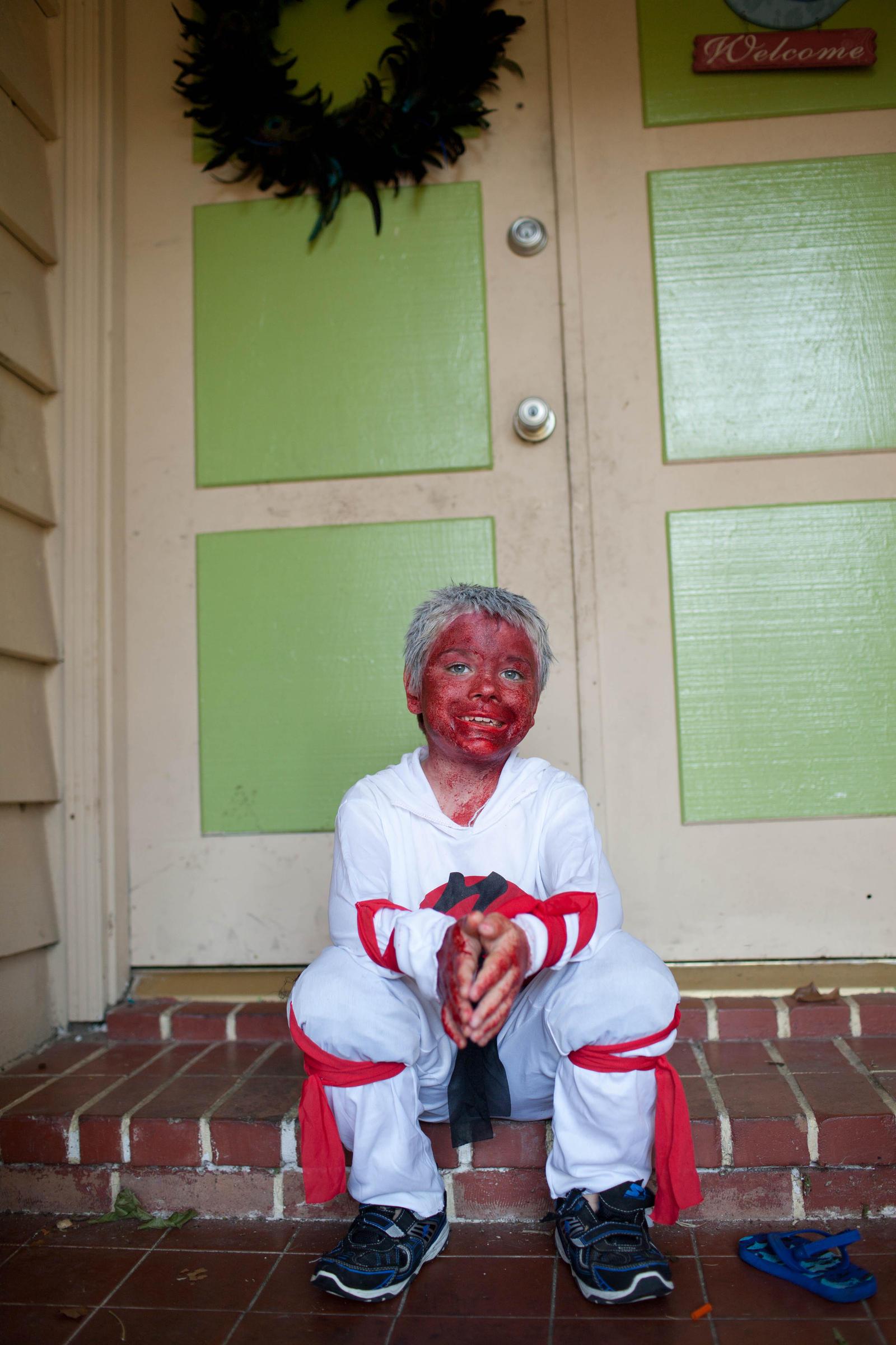 zombie ninja by VioletBreezeStock