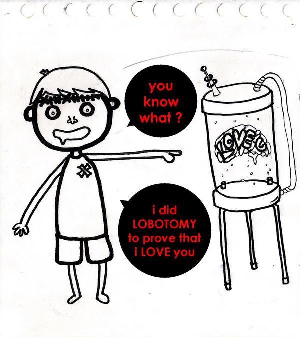 i love you . i really DO by damarakhma