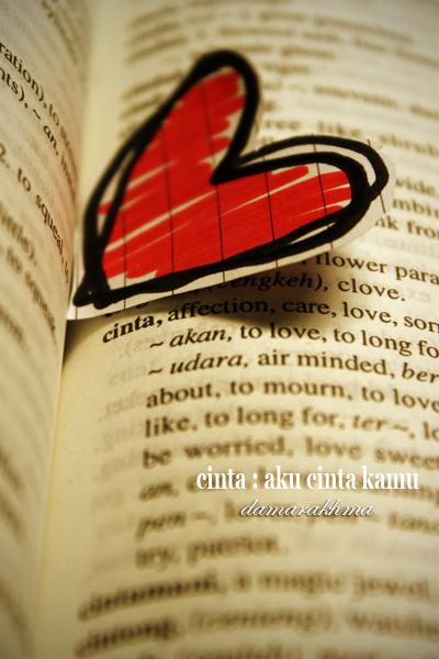 love : indonesian by damarakhma