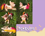 Dinodog sculpt by fox--buns