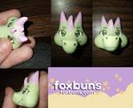 Dragon pin sculpt by fox--buns