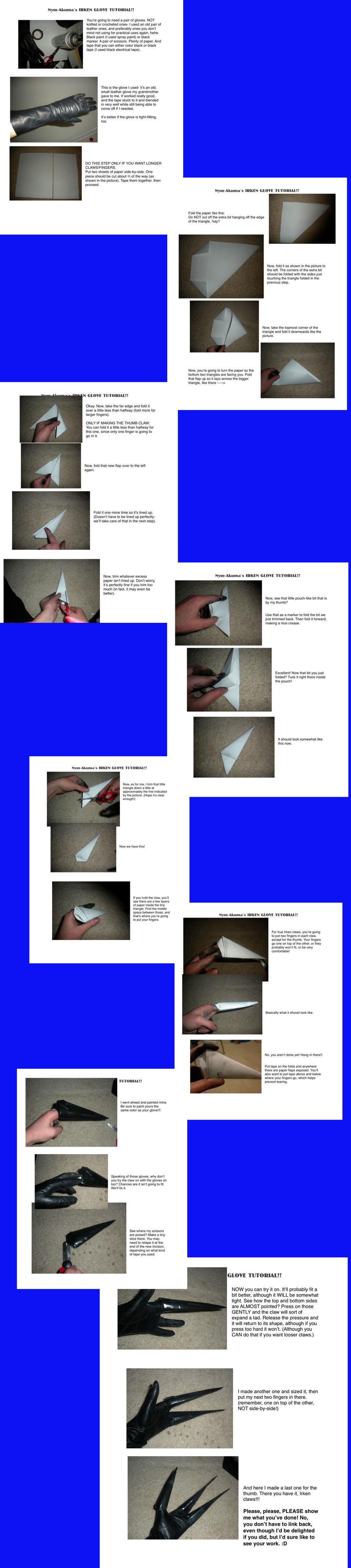 Irken 3-Finger Glove Tutorial