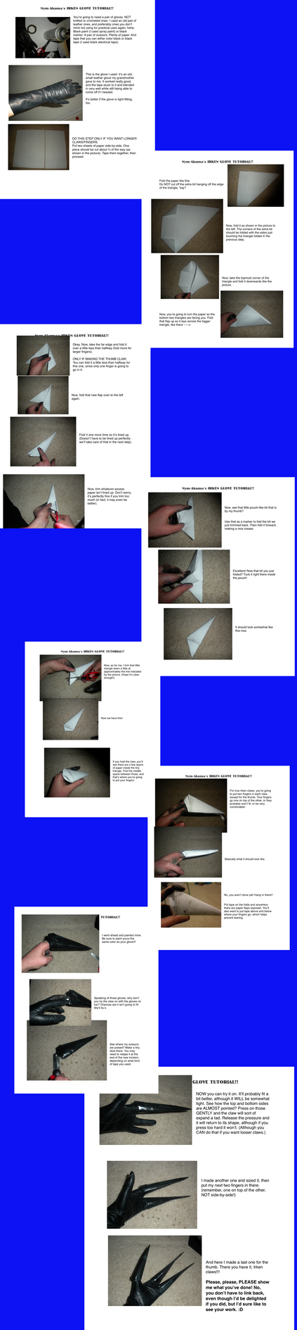 Irken 3-Finger Glove Tutorial by Nym-Akuma