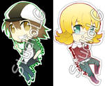 Set2 Tiger and Bunny Key-chain