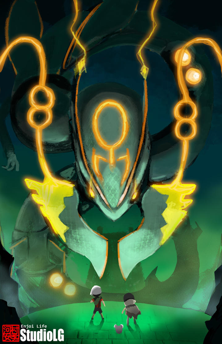 Rayquaza by StudioLG