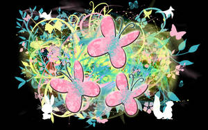 Fluttershy's Butterflies by tvolcom322