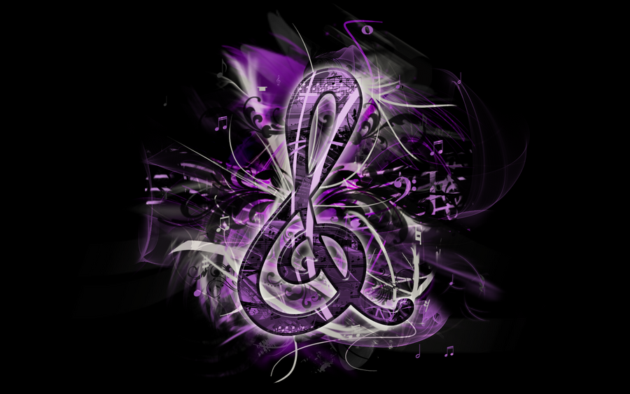 g clef background wallpaper - photo #49