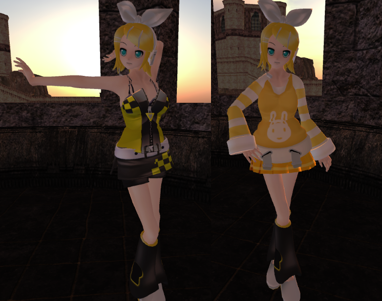 Rin Kagamine Outfit Rin Kagamine Style Clothing by