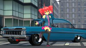 Teto Car Posing by xSakuyaChan510x