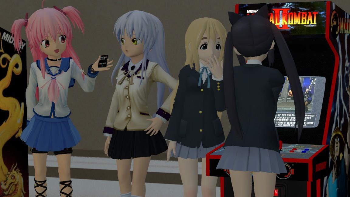 At The Arcade Room! by xSakuyaChan510x