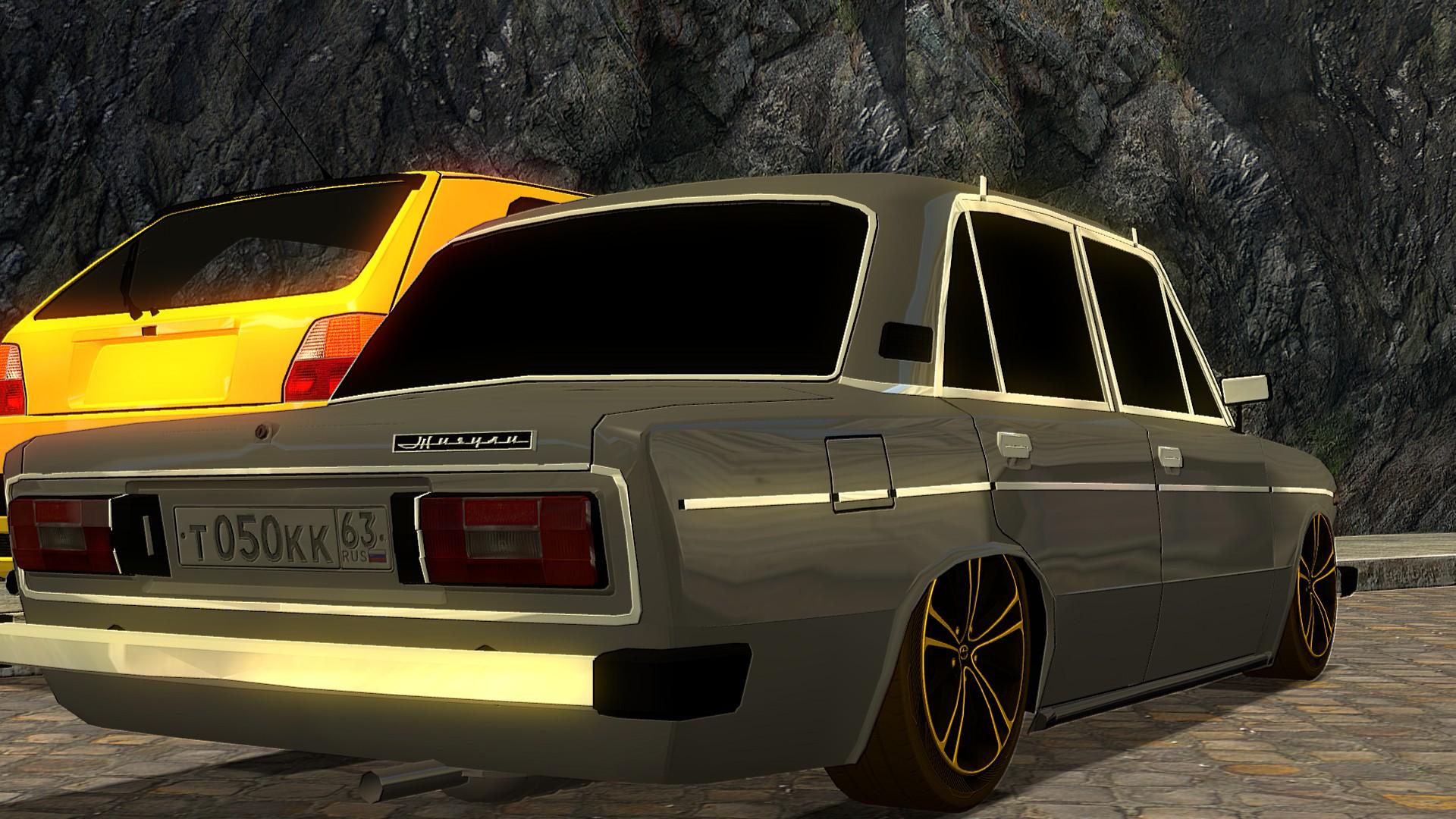 old school 4 door car by xsakuyachan510x