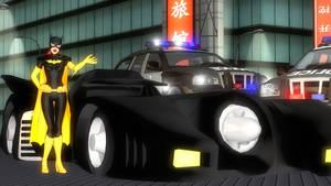Batgirls Batmobile!