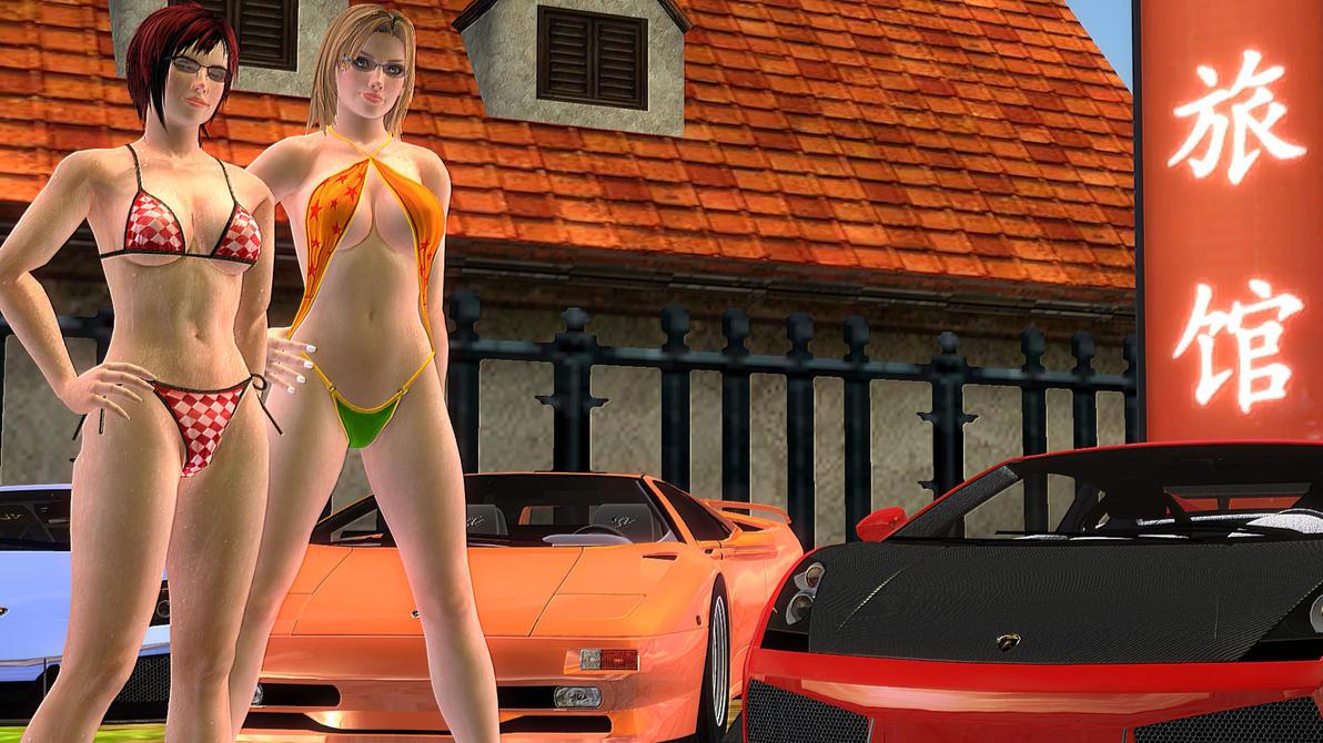 Sexy Mila N' Tina by xSakuyaChan510x