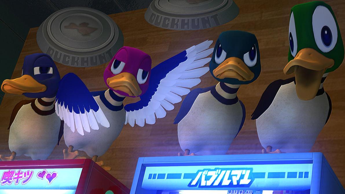 Cool Chillin Ducks! by xSakuyaChan510x