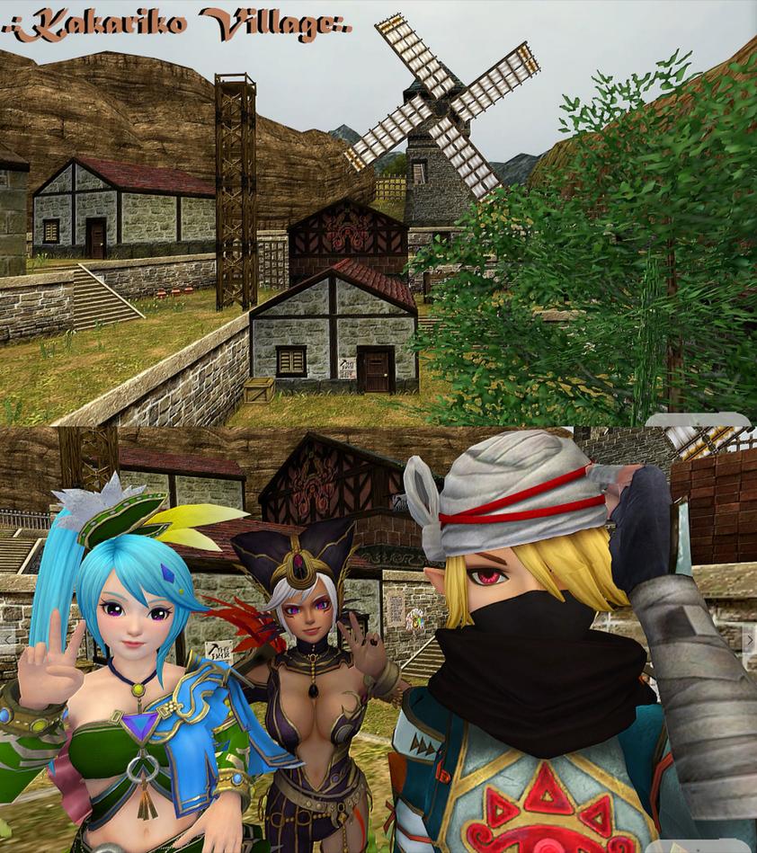 .:. Kakariko Village Visit .:. by xSakuyaChan510x