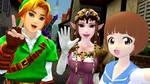 .: Selfie With Link N' Zelda :. by xSakuyaChan510x