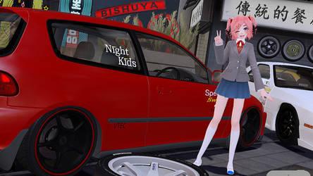.: Natsuki's Civic EG6 :. by xSakuyaChan510x