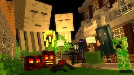 :: Minecraft Monsters ::