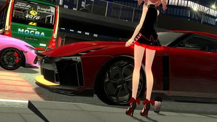 .: Mysterious GT-R Racer :.
