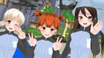 .: Jatkosota High School Girls :. by xSakuyaChan510x