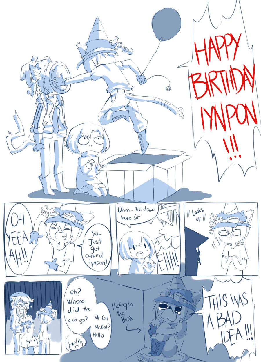Happy Birthday Iynpon AF style by IcyBii