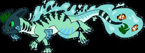 Sea Dragon Adoptable/Design 1# CLOSED by RoeAdopts