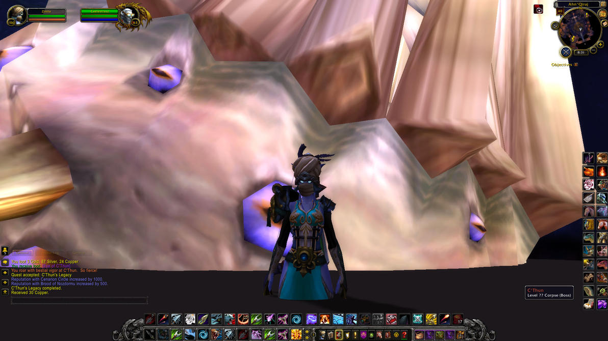 Soloed an old god. by EnthrallinglyBadArt