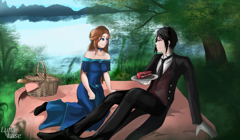 Sabrina and Sebastian [Commission]