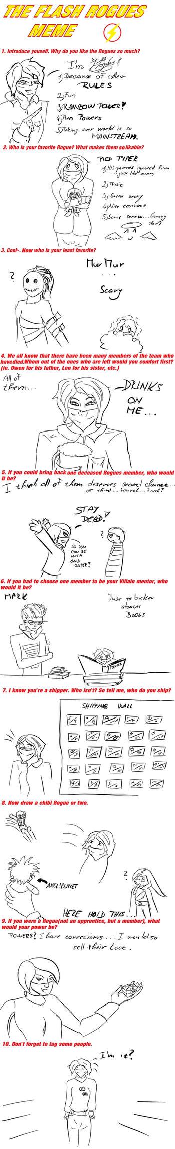 Flash rogue meme by Hoples
