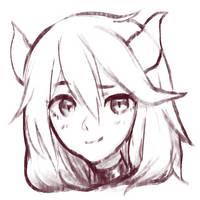 devil doodle by RE-Ori