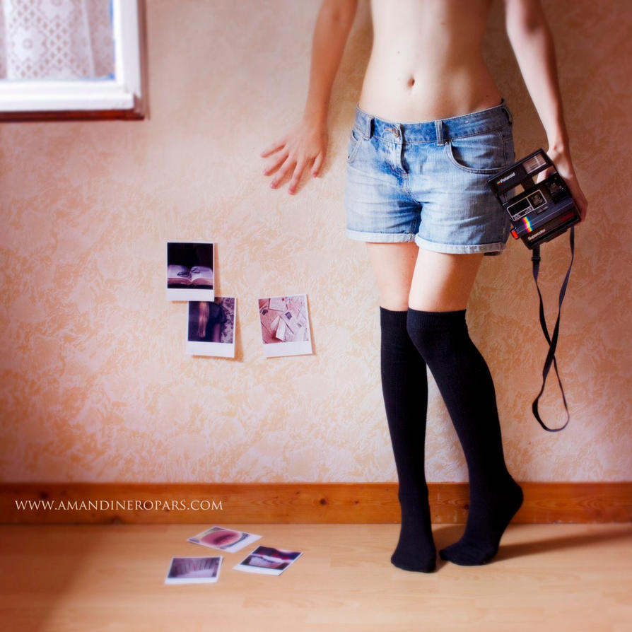 Polaroid - In my room by AmandineRopars on DeviantArt