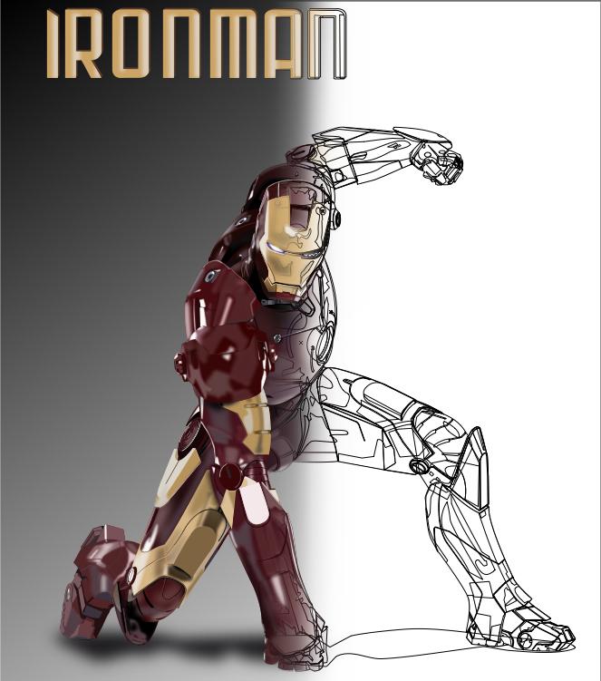 Ironman by Damagot