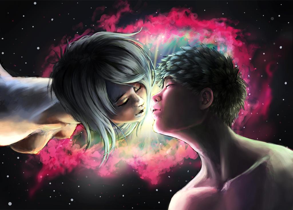 Nebula Kiss by ChuuStar