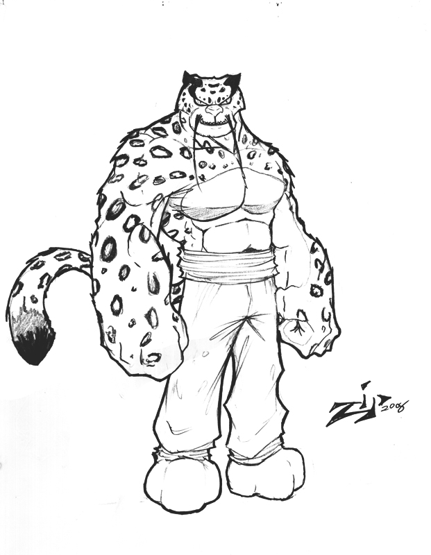 Tai Lung Zip Style By ZipDraw