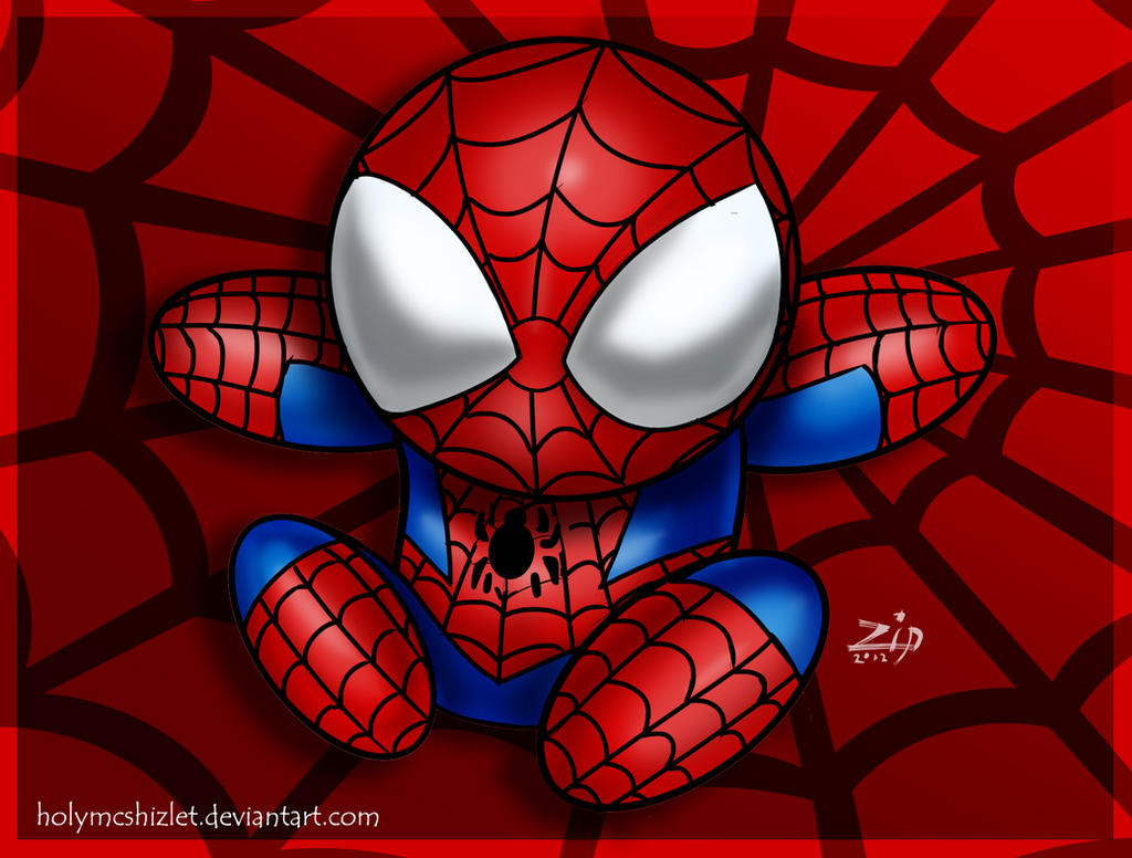 Spiderman cute - photo#2