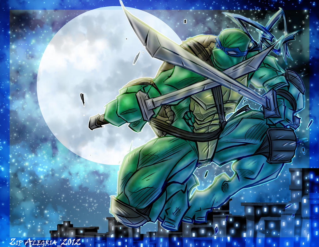 Leonardo Moonlight by ZipDraw