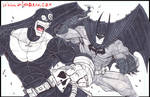 Bullseye Versus Batman
