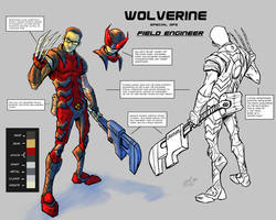 Wolverine Special Ops Operative Character Sheet