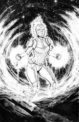 CAPTAIN MARVEL INKS