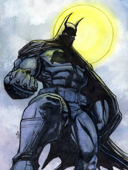 Dark Knight Watercolor